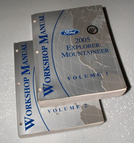 2005 Ford Explorer, Mercury Mountaineer Workshop Manuals (2 Volume ()