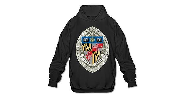 ESSES Johns Hopkins University Seal Mens Hoodie Black