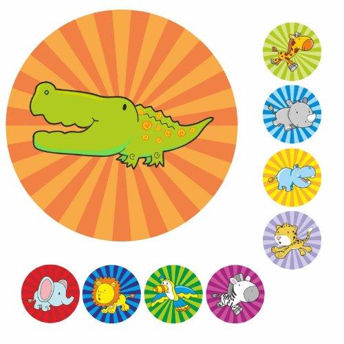 Safari Animal Praise Stickers