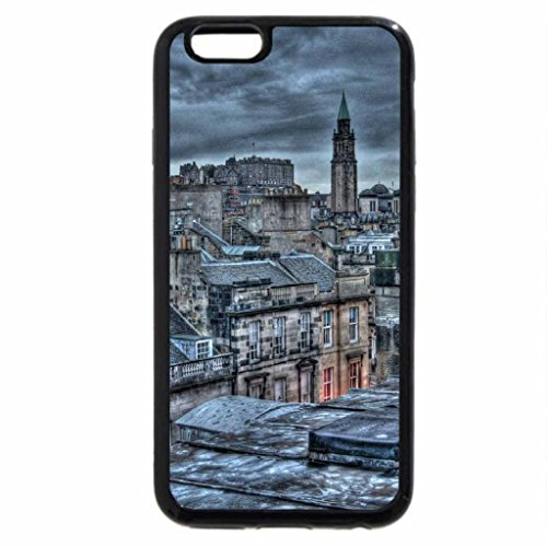 iPhone 6S / iPhone 6 Case (Black) Katya at Sunrise Edinburgh