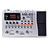 NUX MG-20 Electric Guitar Multi-effects Processor with Drum machine Looper Function Expression pedal Metal Shell