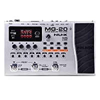 NUX MG-20 Electric Guitar Multi-effects Processor with Drum machine Looper 6