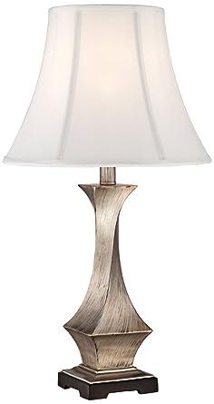 Lydia silver leaf twist table lamp amazon lydia silver leaf twist table lamp aloadofball Images