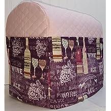 Purple Wine Kitchenaid Tilt Head Stand Mixer Cover (Pink)