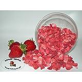 Erdbeeren / Stücke gefriergetrocknet 100g ohne Zusätze von Schmütz-Naturkost, Trockenfrüchte
