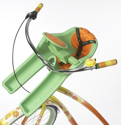 iBert Child Bicycle Safe-T-Seat, Green