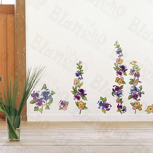 Flower Decor-1 - Wall Decals Stickers Appliques Home Decor Blancho Bedding