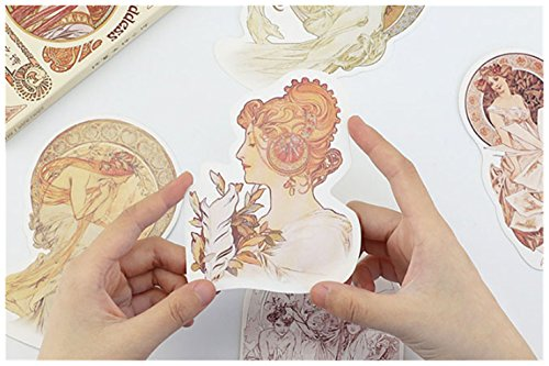 - Ownstyle 30 PCS 1 Set Vintage Retro Lovely Retro Poem of The Goddess Greeting Card Postcards Birthday Business Gift Card Set Message Card