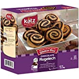 Katz Gluten Free Chocolate Rugelach | Dairy, Nut, Soy & Gluten Free | Kosher 7 Oz (1 Pack)