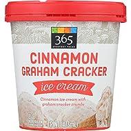 365 Everyday Value Cinnamon Graham Cracker Ice Cream, 16 oz (frozen)
