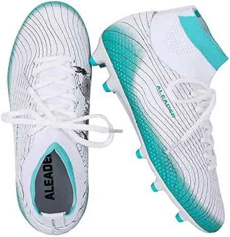 039729b59 ALEADER Boy s Athletic Soccer Cleats Football Boots Shoes (Little Kid Big  Kid)