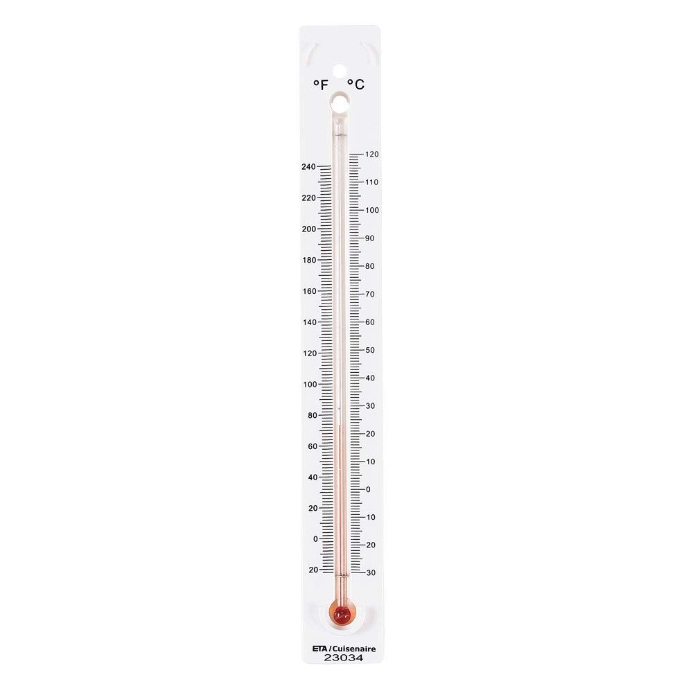 Pack of 10 hand2mind High-Range Mercury-Free Dual-Scale Safety Thermometers for Indoor Science Use