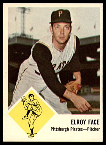Baseball MLB 1963 Fleer #57 Roy Face NM Near Mint Pirates