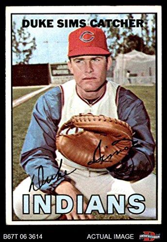 1967 Topps Baseball 3 Duke Sims PSA 5 ()