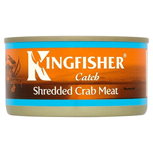 Kingfisher Shredded Crab Meat (170g) - Pack of 2 Crab Salad Dressing