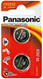 Panasonic Specialist Lithium Coin Batteries CR2032