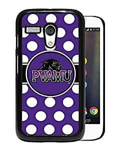 Southwestern Athletic Conference SWAC Football Prairie View AM PVAMU Panthers Black Motorola Moto G Screen Phone Case Attractive and Fashion Design