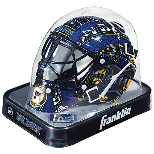 Louis Blues Mini Hockey Helmet - Franklin Sports NHL League Logo St. Louis Blues Mini Goalie Mask