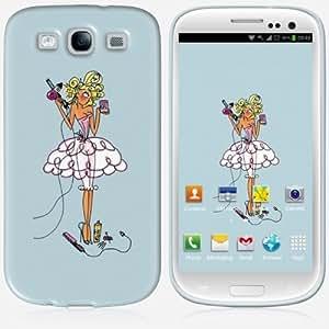 Galaxy S3 case - Skinkin - Original Design : Gourmandise bleue by Carlotta