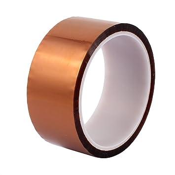 WINGONEER 40mm x 33m Polyimide Calor Alta temperatura Cinta Adhesiva Resistente Para Plataforma De Impresora 3D / Tarea Eléctrica / Soldadura Tarea: ...