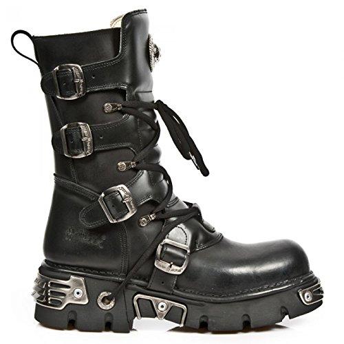New Rock Boots M.373b-c1 Gotico Hardrock Punk Unisex Stiefel Schwarz