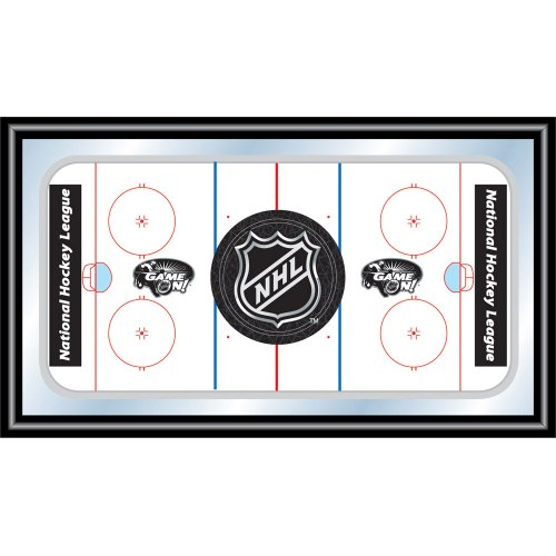NHL Framed Logo Mirror