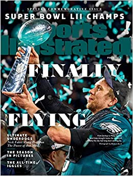 008e0c21032 Amazon.com  Sports Illustrated Philadelphia Eagles Super Bowl Champions  Commemorative Issue (0074470109921)  Editors of Sports Illustrated  Books