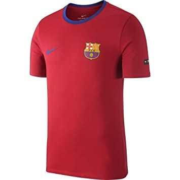 Nike FC Barcelona Football – Camiseta, Hombre, 888801-620, Noble Red/