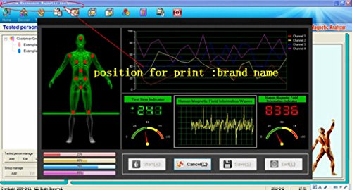 2017 New Arrival USB Power Quantum Body Analyzer 38 Reports in English & Spanish with Latest Version 3.9.0 of Software by ZHZ (Image #7)