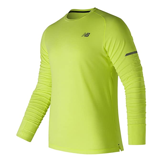 dc7f3a3495 New Balance Men's Seasonless Reflective Long Sleeve Shirt
