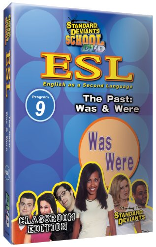 Standard Deviants School ESL Program 9: the Past: Was & Were Vhs