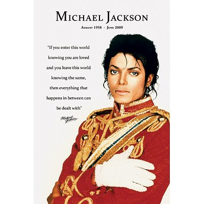 Michael Jackson Loved Poster