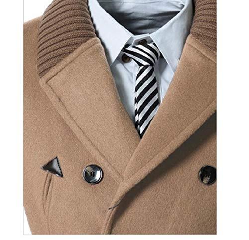 1 Maglia Il Parka Cardigan Doppiopetto Md Mogogomen Collare lungo Outwear Couverture TOwqvOAa