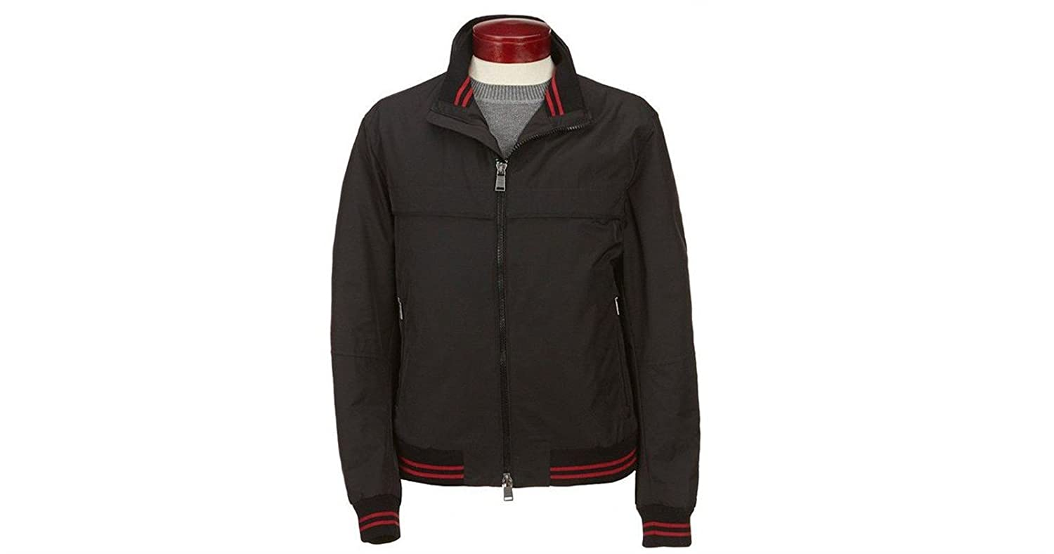 3b73a91e42 Amazon.com: Hugo Boss Boss Boss Black Cossito Bomber Jacket Regular-Fit  Blouse Technical Fabric: Clothing