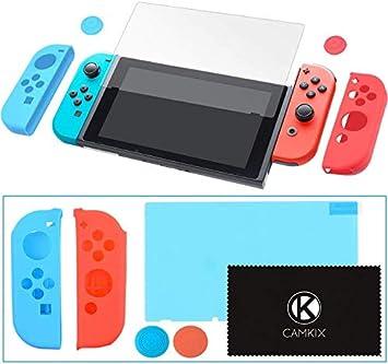 CAMKIX Juego de Protección y Agarre, Compatible con Nintendo ...