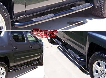 06 11 Honda Ridgeline Black Side Step Nerf Bars Running Boards