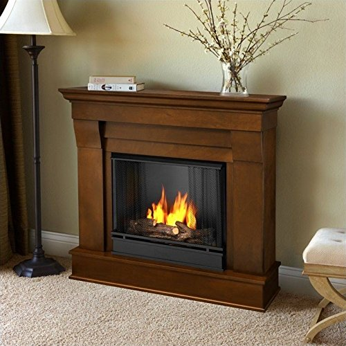 Chateau Gel Fireplace in Espresso