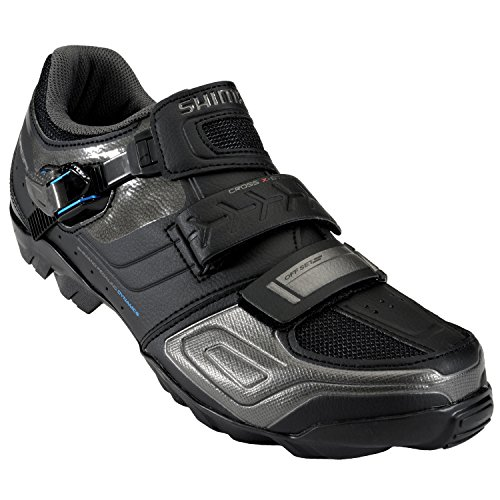Shimano SH-M089 Cycling Shoe - Wide - Men's Black, 46.0