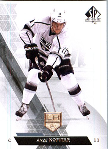 (2014 Upper Deck SP Authentic Hockey Card (2013-14) #21 Anze Kopitar - Los Angeles Kings MINT)