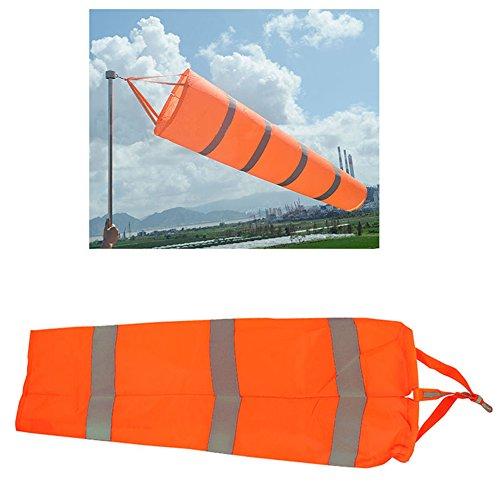 (Airport Windsock,Wind Cone 80cm Long Outside Wind Sock Windsock Outdoor Wind Sock Bag with Reflective Belt)