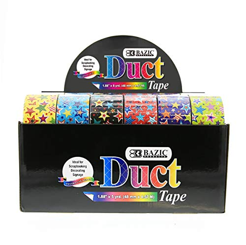 5 Yard Case - Bazic 2320326 1.88 in. x 5 Yard DDI Star Series Duct Tape - Case of 24