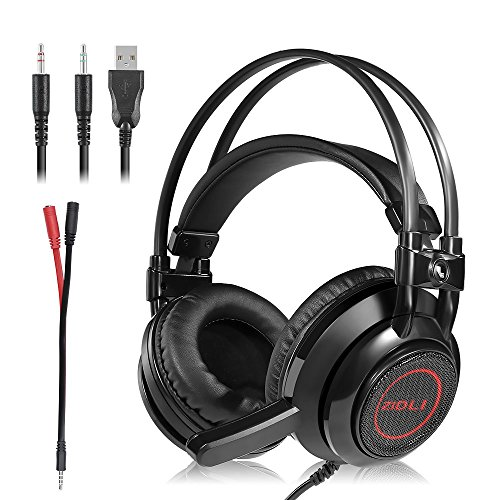 51QlDxgH4DL - Gaming-HeadsetStereo-Gaming-Headset-Noise-IsolationLED-LightBass-Surround-Over-earMic-USB-35mm-Wired-Gaming-Headphones-Volume-Control