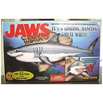 Jaws: It's A Singing, Dancing Great White! By Gemmy Industries, 2000: Toys & Games