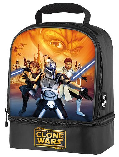 Clone Wars Backpack - Star wars the Clone Wars Insulated Lunch Bag (1, A)