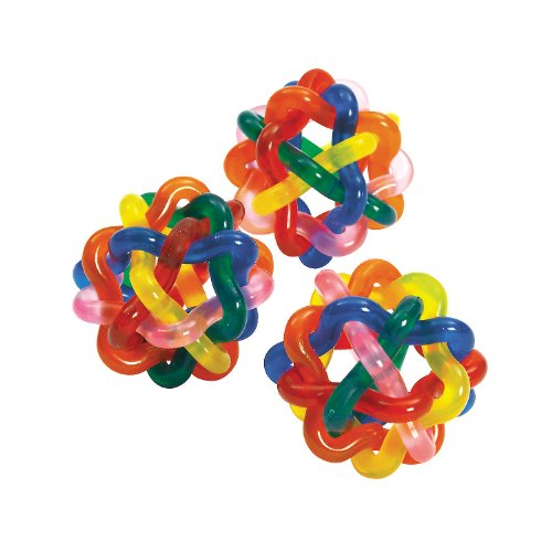 Colorful Intertwined Rubber Balls Pack