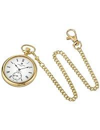 Charles-Hubert, Paris Reloj de bolsillo mecánico con cara abierta chapado en oro