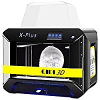 QIDI TECH 3D Printer, Large Size X-Plus Intelligent Industrial Grade 3D Printing with Nylon, Carbon Fiber, PC,High Precision Printing 10.6x7.9x7.9Inch from RUIAN QIDI TECHNOLOGY CO.,LTD