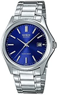 a3d8d6fcf83f Casio Men s Analogue Quartz Watch with Stainless Steel Bracelet  MTP-1183PA-2A