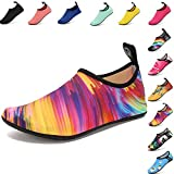 #5: VIFUUR Water Sports Shoes Barefoot Quick-Dry Aqua Yoga Socks Slip-On For Men Women Kids