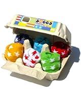 Soggs Socken Baby in Box, Eier, etoiles